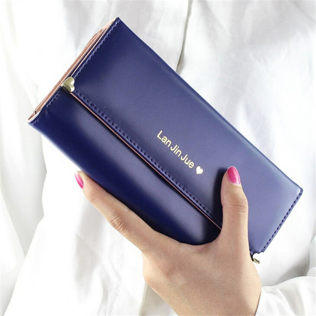 2017 PU Leather Wallet for Woman or Girl