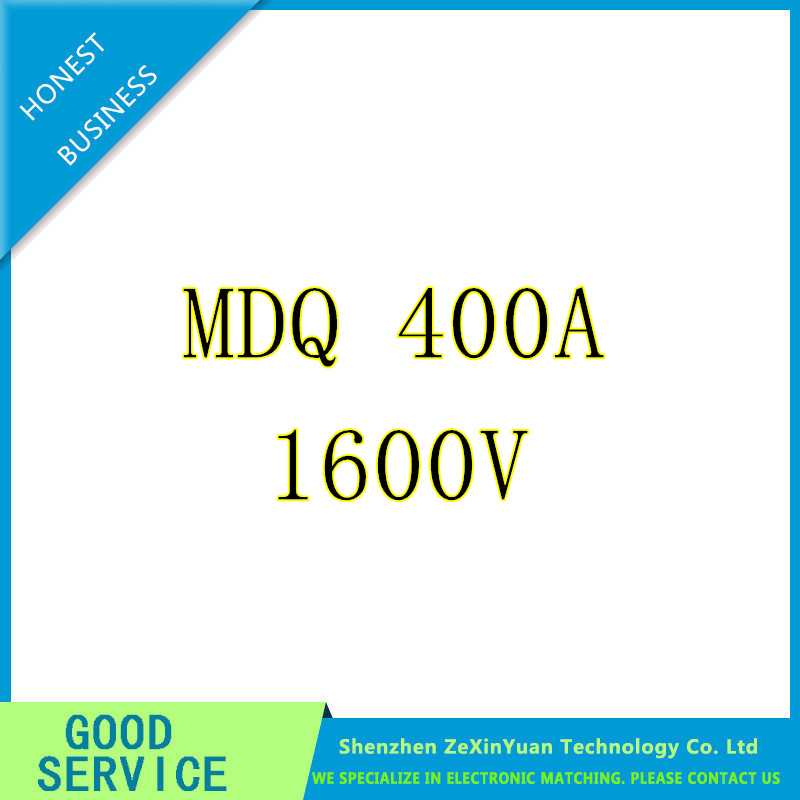 MDQ 400A Single Phase Diode Bridge Rectifier 400A Amp 1600V Power Module Board Electronic Rectifiers