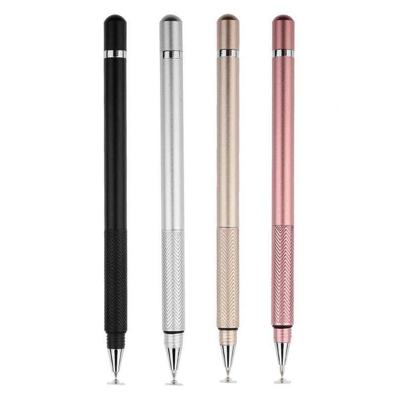 Capacitive Pen Pen Touch Screen Drawing Pen Stylus For IPhone For IPad For Smart Phone Tablet Black Silver Gold