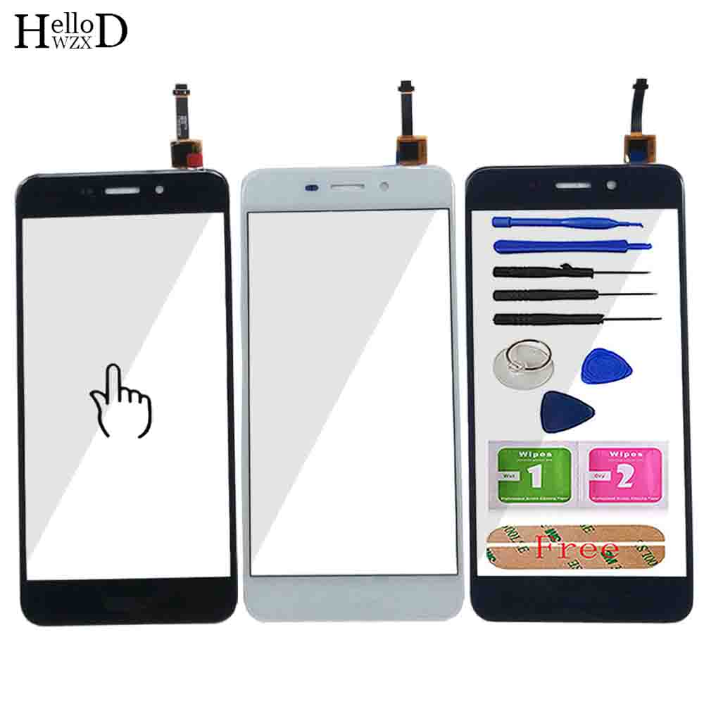 Mobile Touch Screen For Huawei Honor 6C Touch Touchscreen Sensor Panel Digitizer Outer Glass Tools Adhesive Wipes