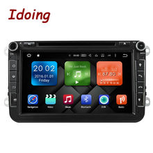 Idoing Android6.0 2G RAM 32G ROM 8Core 2Din Steering-Wheel For VW/Skoda/Seat Car Multimedia DVD Player Fast Boot TV 1080P HDP