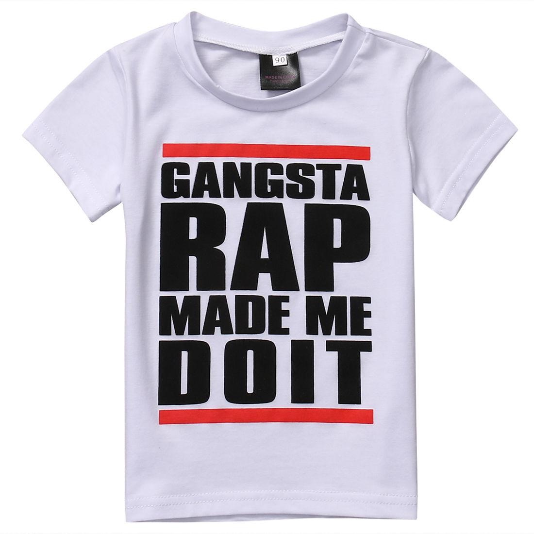 Tops Summer font b Baby b font Boy Girl T shirt Tee Short Sleeve Casual Shirt