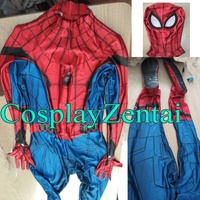 Spider Man Homecoming Cosplay Costume 3D Printed Spiderman Homecoming Spandex Suit Newest Spidey Bodysuit New Custom Made
