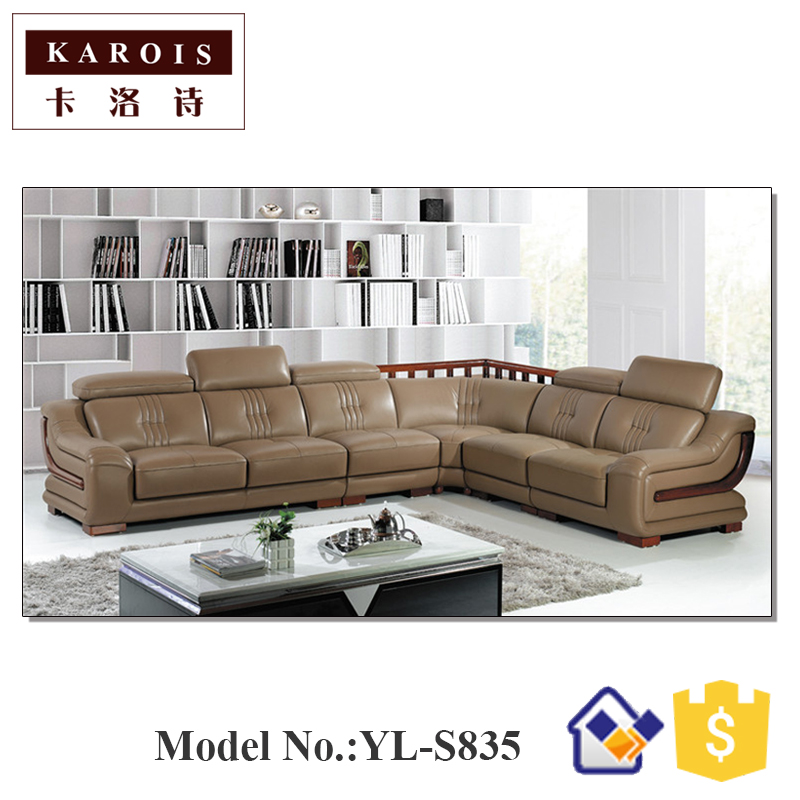 Latest drawing room luxury living room furniture sofa set for Latest living room furniture designs
