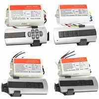 1/2/3/4 möglichkeiten AUF/OFF 220V Drahtlose Fernbedienung Schalter Digitale Fernbedienung schalter für Lampe & Licht WWO66