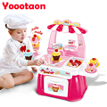 34pcs Classic Cooking Toys For Children 46PCS Pretend Play Cutting Food Set Kids Kitchen Toys