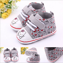 Lovely Baby Shoes First Wakers Newbon Cartoon Shoes Prewalker,Infant Antislip Sapato