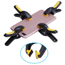 все цены на 4pcs/lot Plastic Clip Fixture Phone LCD Screen Fastening Clamp For Iphone Samsung iPad Mobile Phone Repair Tool Ferramenta онлайн