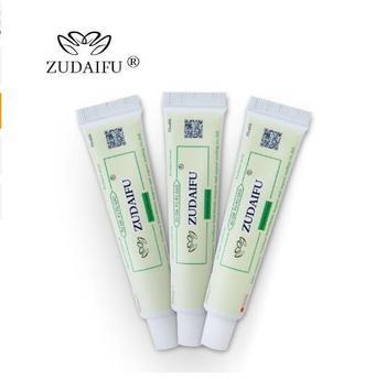 10pcs zudaifu body cream without retail box men women skin care product relieve Psoriasis Dermatitis Eczema Pruritus effect 1
