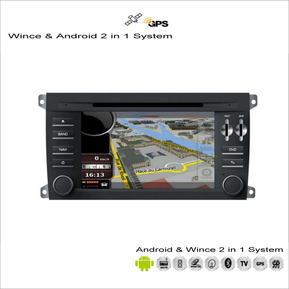For porsche cayenne 2002 2010 car android radio cd dvd player gps navi map