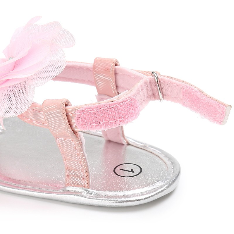 Newborn-Baby-Sandals-Princesses-Infant-Kids-Girl-Big-Flower-Cute-PU-Summer-Shoes-Pink-Yellow-Black-White-5