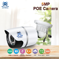 ZSVEDIO IP Cameras POE 5MP IP Camera Alarm System CCTV Camera IP Cameras POE Waterproof NVR