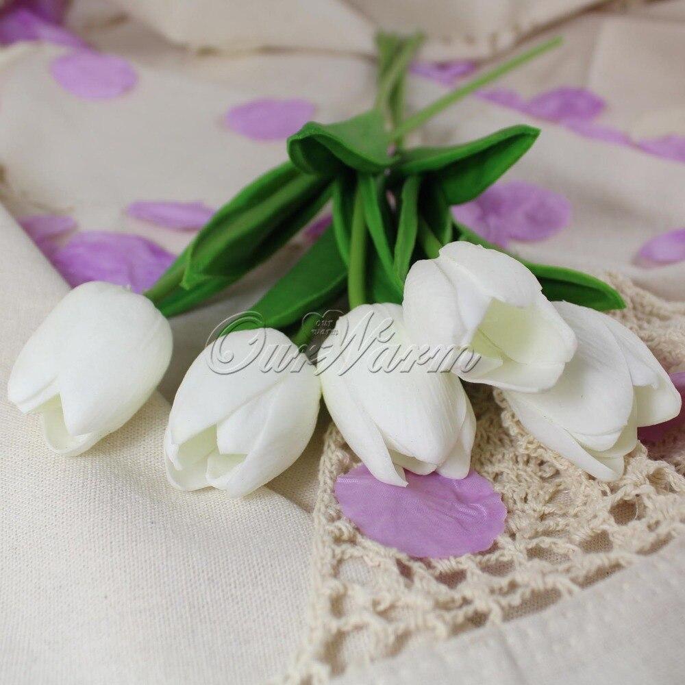 Online kopen wholesale kunstmatige rode tulpen uit china ...