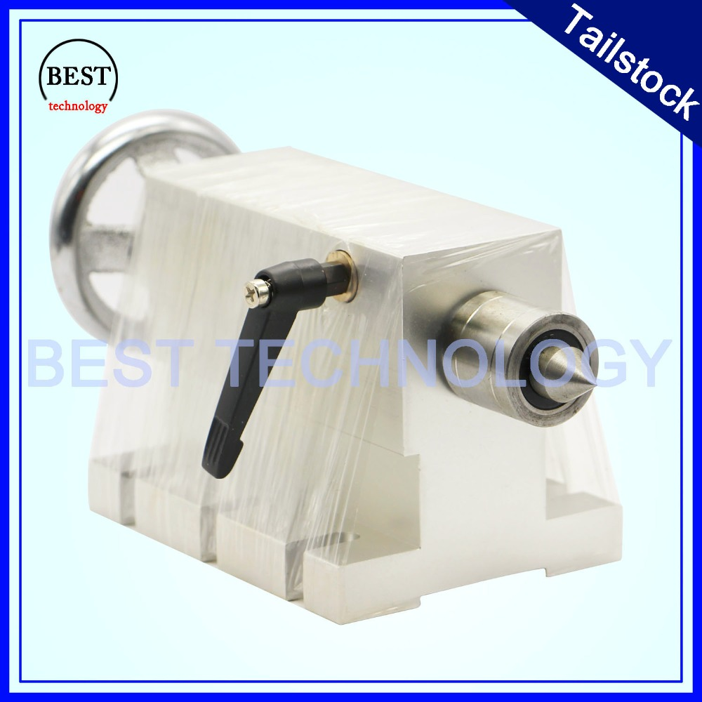 CNC Tailstock For Rotary Axis,A Axis,4th Axis, Cnc Router Machine 50mm Engraving Milling