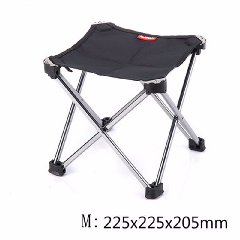 Outdoor Foldable Folding Ultra Light Fishing Picnic BBQ Garden Chair Tool Square Camping Chair 7