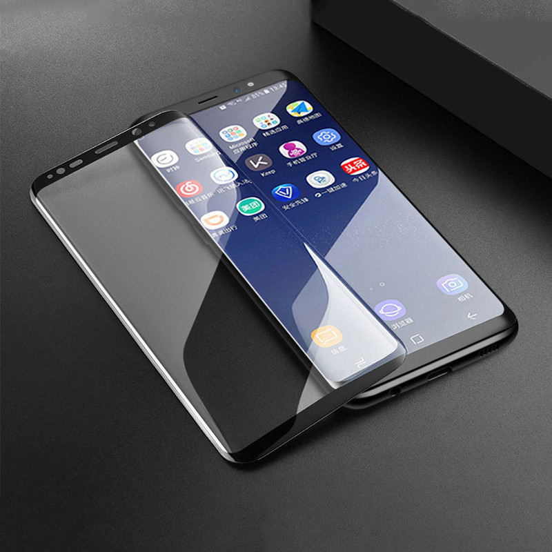 Image 5 - 10D Curved Tempered Glass On The For Samsung Galaxy S9 S8 S7 Edge Note 8 9 S10e S10 Plus Screen Protector Protective Glass Film-in Phone Screen Protectors from Cellphones & Telecommunications