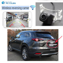 YESSUN car Reverse wireless reverse camera hd night vision  For Mazda CX~9 CX9 2007~2014 Car HD rear view reversing
