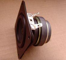 2pcs 2.5″ inch Dual Magnetic Speaker Loudspeaker Rubber edge 6 Watts 4 Ohms