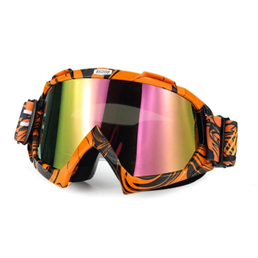 Новая мотоциклетная обувь очки ветрозащитный пыле Лыжный Спорт очки падения Устойчив мотоцикл Очки Спорт на открытом воздухе Очки