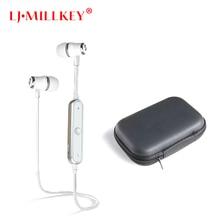 S6 Bluetooth Stereo Fone de Ouvido Com Microfone Fones de Ouvido Sem Fio Esportes Em Execução Fones de Ouvido Bluetooth Para O Telefone LJ-MILLKEY SNH001