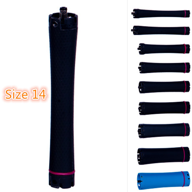 Factory Direct Selling, High Quality Hair perm roller, rod, 36V digital hair perm, PTC, size 14