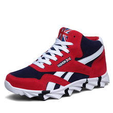 new high top fashion staly casual shoes for men comfortable