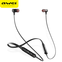 Awei G10bl Bluetooth Earphone Wireless Headphones 3d Stereo Sports Earphones With Mic Headset Fone De Ouvido For Iphone Samsung fone de ouvido earphone sports wireless bluetooth headphones stereo mp3 music player headset earpiece sd card slot handsfree mic