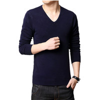 Men S Clothing 2016 New Autumn And Winter Men S Sweater Button Fit Slim Pullover Long