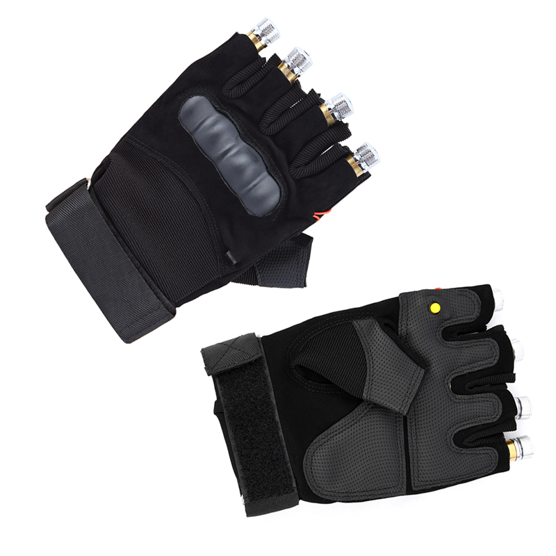 Cool Finger - Laser Gloves - Flashlight - for Party - Concert - Clubbing - Wedding - Birthday - Party - Outdoor Night Activities(4)