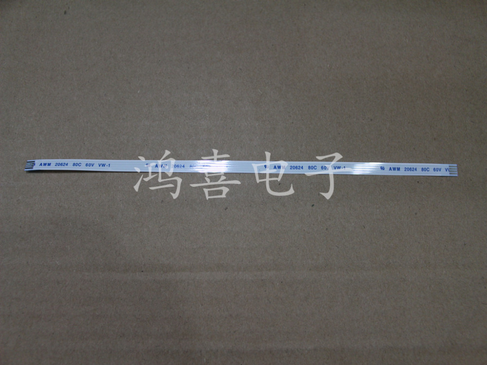 WZSM Оптовая продажа Новый 10 шт FFC FPC гибкий кабель 1,0 мм шаг 4 шпильки длина 200 мм направление вперед AWM 20624 80C 60В VW-1
