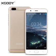 Xgody D18 4 г LTE 5.5 дюймов смартфон Android 6.0 MTK MT6737 4 ядра 1 г + 16 г 8.0MP + 13.0MP разблокирована Dual SIM телефон мобильный телефон
