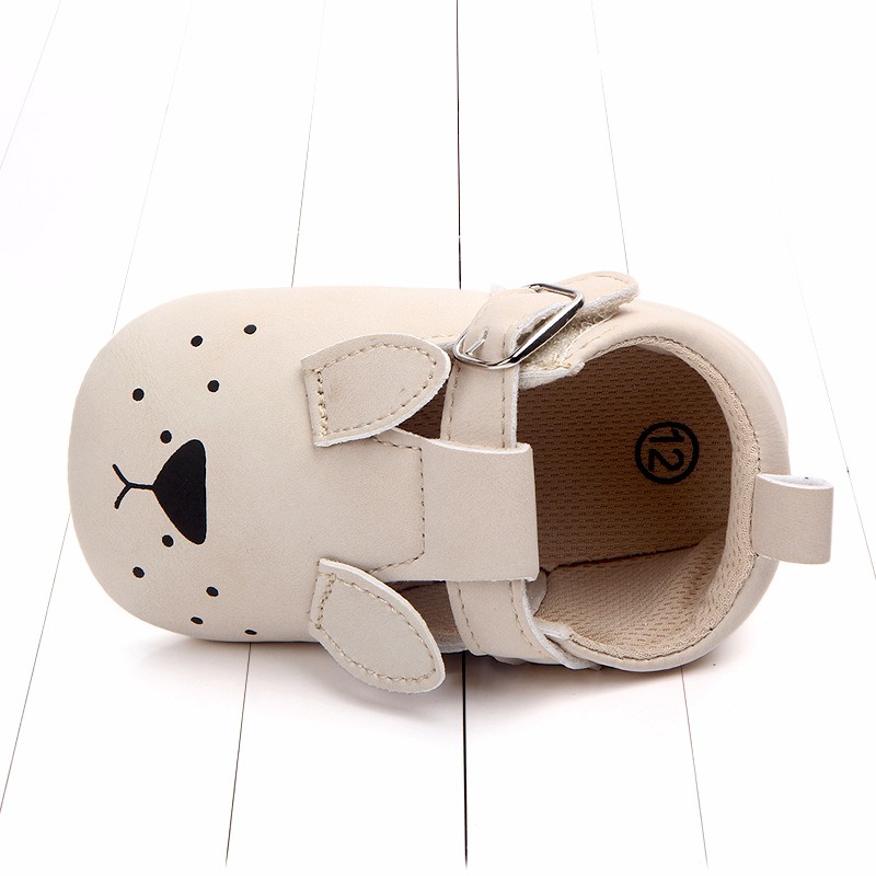 Baby First Walkers Matte leather Shoes for Baby Girl Boy Cartoon Animal Newborn Slippers Footwear Booties Kids Gift Child Shoes (9)