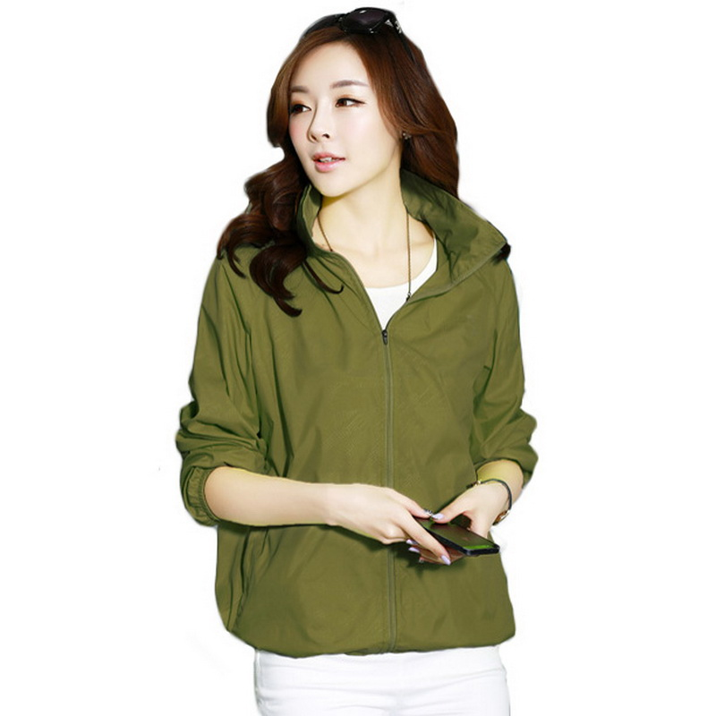 NaranjaSabor 2018 Summer Quick Dry Anti Uv Women's Jackets Waterproof Women Coat Ultra Light Breathable Women Clothing 15 Colors