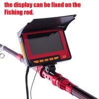 Fishing Camera Monitor Underwater Video DVR Recorder Fishing Camera 20M Cable 4 3 HD Color Digital