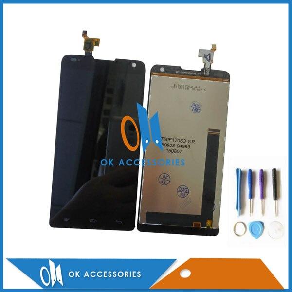 Черный Цвет для Prestigio Grace X7 PSP7505 PSP7505 DUO ЖК-дисплей Дисплей с Сенсорный экран планшета 1 шт./лот с инструментами