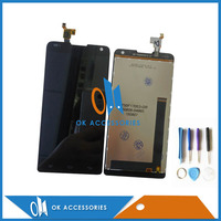Black Color For Prestigio Grace X7 PSP7505 PSP7505 DUO LCD Display With Touch Screen Digitizer 5PCS