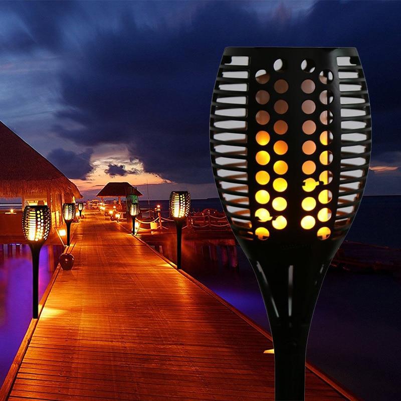 Porch Light Flickers When Off: Aliexpress.com : Buy Solar Lamp 96LEDs Flickering Flames
