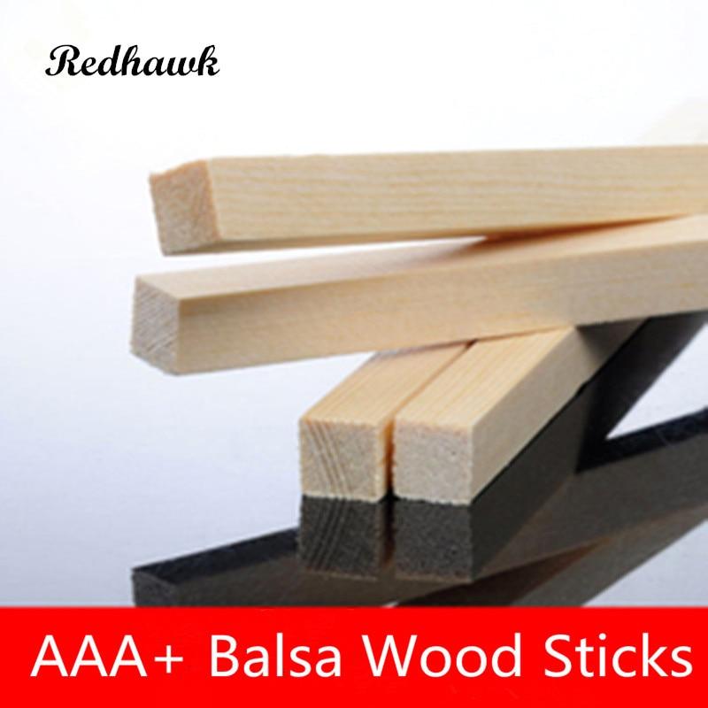 1000mm long 6x8/6x10mm AAA+ Balsa Wood Sticks Strips Model Balsa Wood for DIY airplane model free shipping ld7530pl ld7530 sot23 6