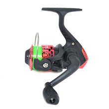 Cheap Mini fishing reel spinning fishing reel Gear 3 BB Gear Ratio 5.2:1  Right Left handle