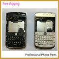 Original para blackberry bold 9700 9780 nuevo original completo completo teléfono móvil caso de la cubierta de vivienda + teclado + logo