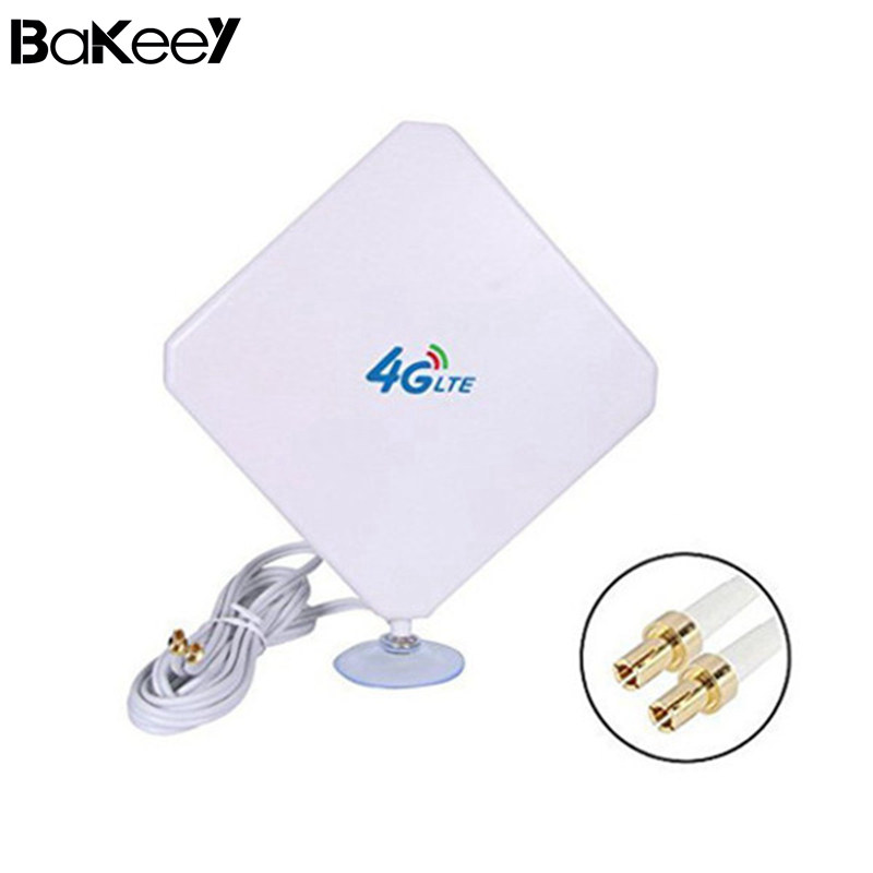 Bakeey 4G LTE Antenna 35dBi High Gain Mobile Signal Booster Amplifier Wifi Repeater Netw ...
