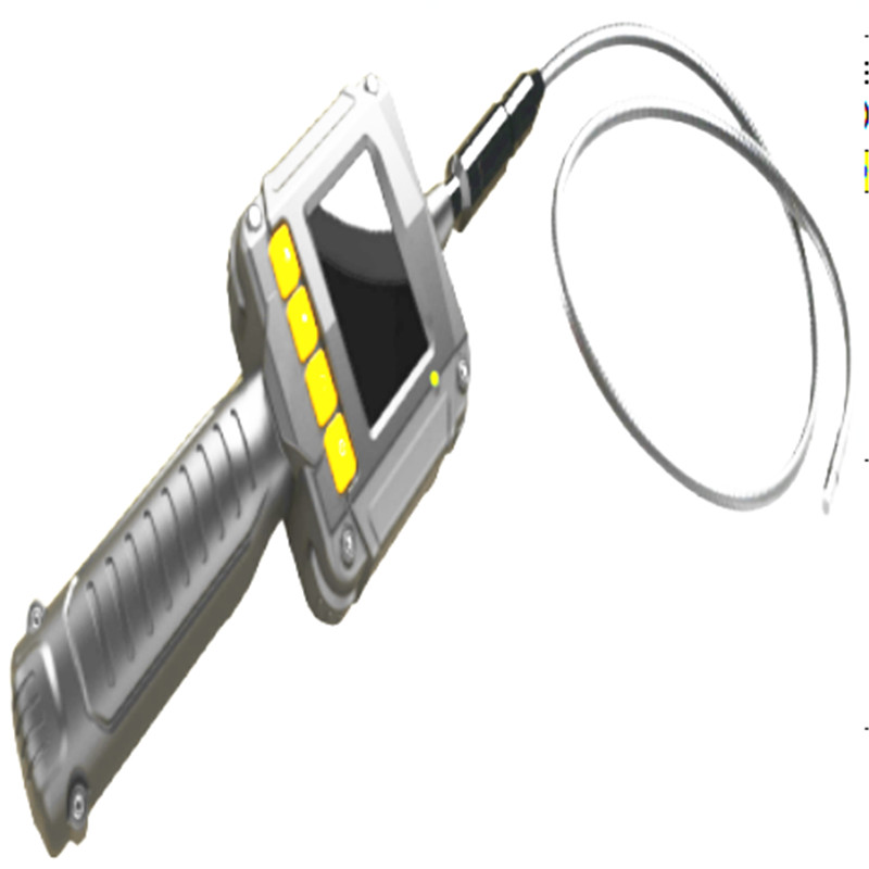 2.3 Inch Water-proof 8MM AV Handheld Endoscope Camera