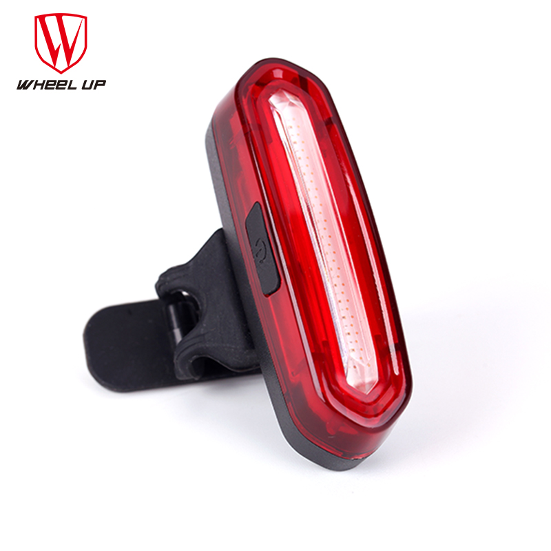 WHEEL UP Bike Taillight Impermeable Riding Luz trasera Led Usb Chargeable Mountain Bike Ciclismo Light Tail-lamp Luz de bicicleta