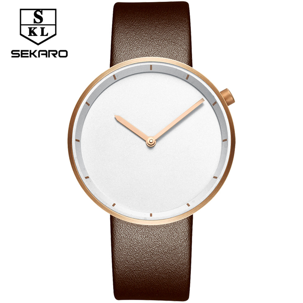 2017 Fashion Watch Women Watches Ladies Luxury Brand Famous SEKARO Quartz Watch Female Clock Relogio Feminino Montre Femme classic simple star women watch men top famous luxury brand quartz watch leather student watches for loves relogio feminino