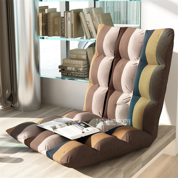 шезлонги для спален   N818 Гостиная мебель современный простой диван для отдыха на одного татами складной диван балкон Спальня 6-Шестерни регулируемые напольные д...