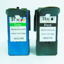 Vilaxh ink cartridge for 36xl 37xl Lexmark 36 37 X3650 X4650 X5650 X5650es X6650 X6675 Z2420 printer