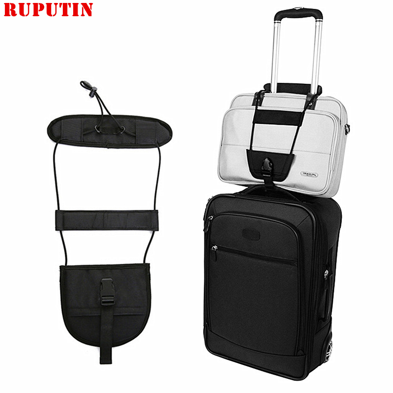 RUPUTIN Elastic Telescopic Luggage Strap Travel Bag Parts Suitcase Fixed Belt Trolley Adjustable Security Accessories Supplies