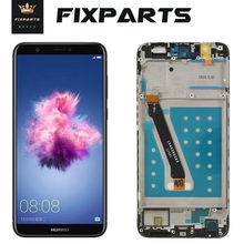 Huawei P Smart LCD Display Touch Screen Digitizer Assembly For Huawei P Smart LCD With Frame FIG LX1 L21 L22 Screen Replacement for huawei p smart 2019 lcd display touch screen digitizer assembly pepair parts p smart 2019 display with frame replacement