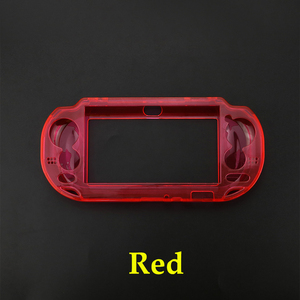 Image 4 - JCD 5pcs Protective Clear Crystal Hard Carry Guard Case Cover Skin for Sony Psvita PS Vita PSV 1000 Crystal Full Body Protector