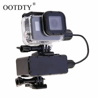 5200mAh Waterproof Power Bank Battery Charger Waterproof case for GoPro Hero 6 5 Action Camera Gopro Charging Shell / Box